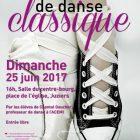 Démonstration de danse classique à Juziers