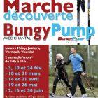 Marche découverte Bungy Pump avec Chantal en 2018